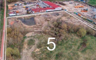 Działka przy ul. Bałtyckiej o powierzchni  2,21 ha