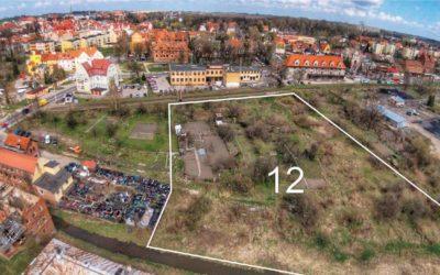 Działka przy ul.Chopina o pow. 0,75 ha