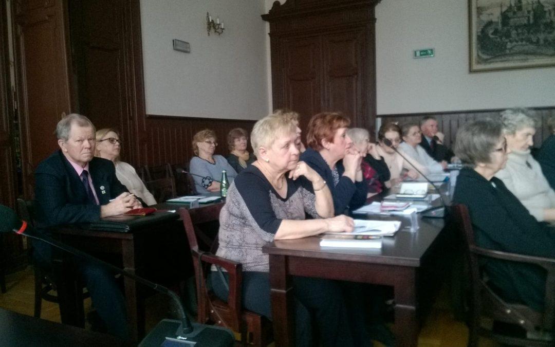 III posiedzenie  Kętrzyńskiej Rady Seniorów