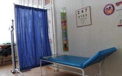 Doposażenie szkolnych gabinetów profilaktyki zdrowotnej