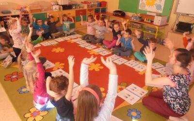 """""""Migaj z nami"""" warsztaty edukacyjne dla dzieci w wieku przedszkolnym."""