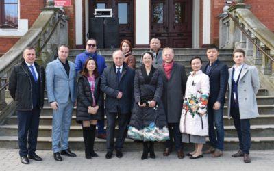 Delegacja z Chin w Kętrzynie.