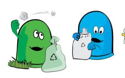 Zapraszamy do obejrzenia nowego spotu promującego segregację odpadów.