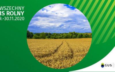 Powszechny Spis Rolny 2020. Informacja o otwartym i konkurencyjnym naborze na rachmistrzów terenowych