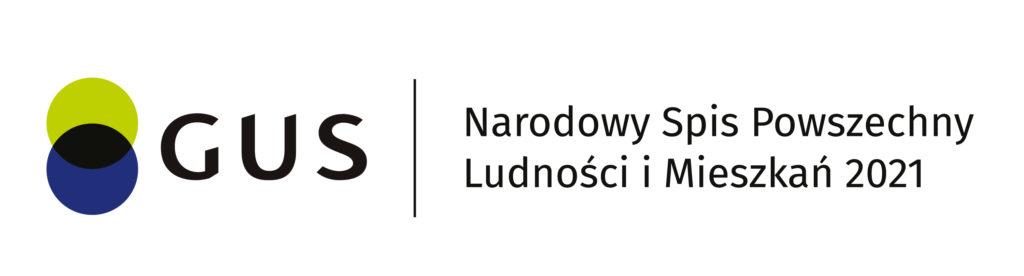 Logo GUS Narodowy Spi Powszechny ludności i mieszkań 2021