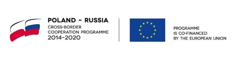 logo Poland-russia oraz logo unii europejskiej