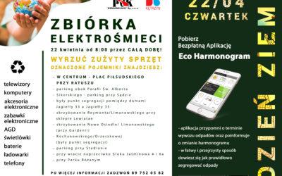 Zbiórka ELEKTROŚMIECI – 22 kwietnia DZIEŃ ZIEMI w Kętrzynie!
