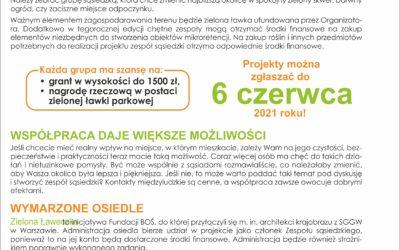 Zielona Ławeczka 2021