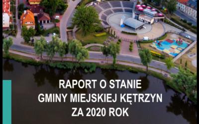 Raport o stanie Gminy Miejskiej Kętrzyn za 2020 rok